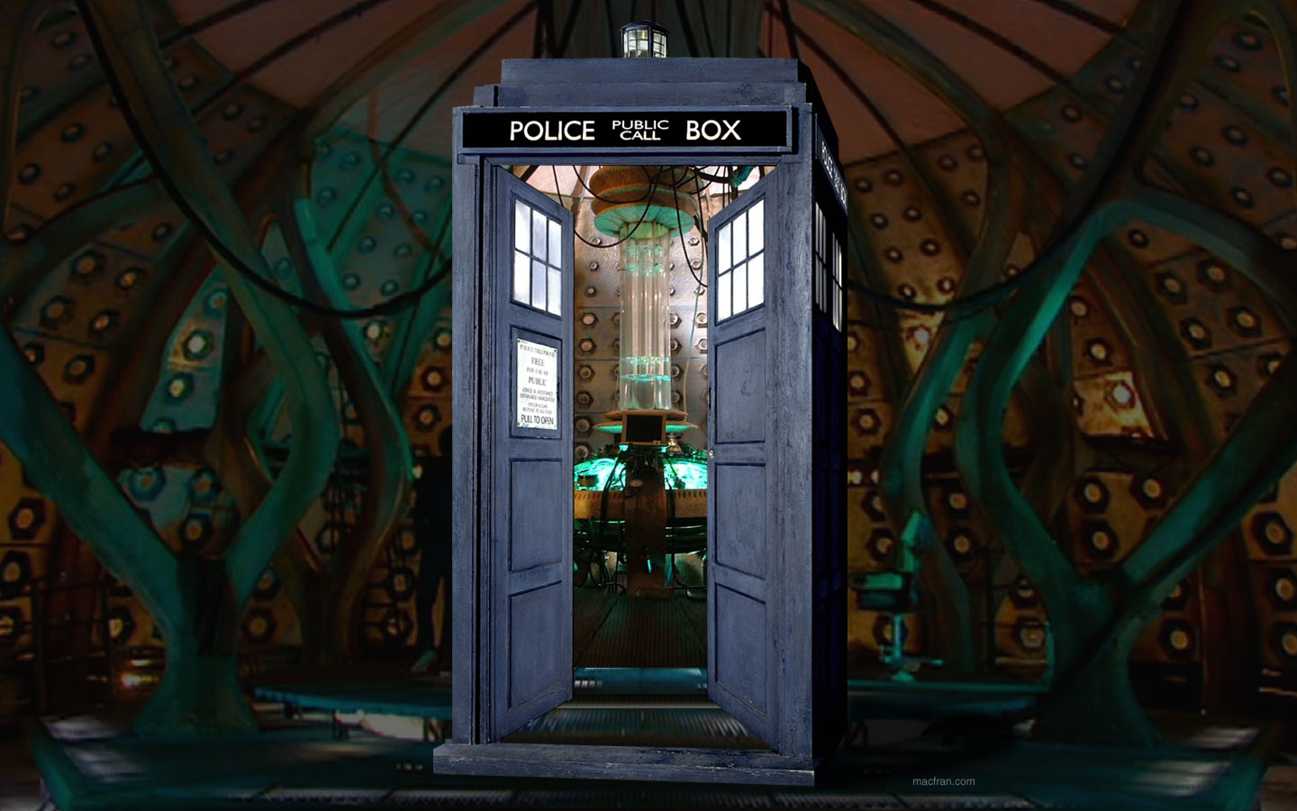 Tardis bigger inside the outside